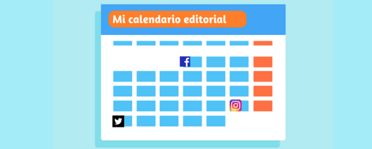 Mi calendario editorial